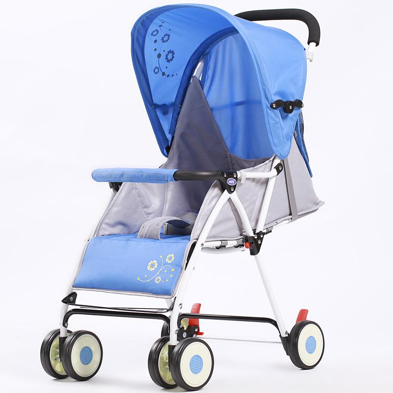 包邮呵宝超轻便折叠婴儿伞车童车推车bb童车可躺713婴儿车 推荐