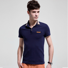 ROGOR MAN men's polo shirt men short sleeve polo shirt Men's Slim lapel T-shirt men summer 2013