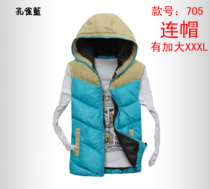Free shipping 2013 new fall and winter clothes casual jacket cotton vest male vest male Korean couple tide