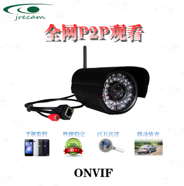 Сетевая IP камера Миллион P2P HD сетевой камеры инфракрасного машина с ircut карты пулемет системы наблюдения за безопасностью