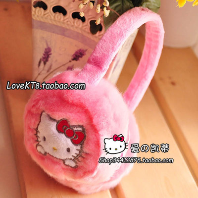 Australia Ter KT hello kitty cat pink earmuffs ear package earmuffs series modeling genuine counter