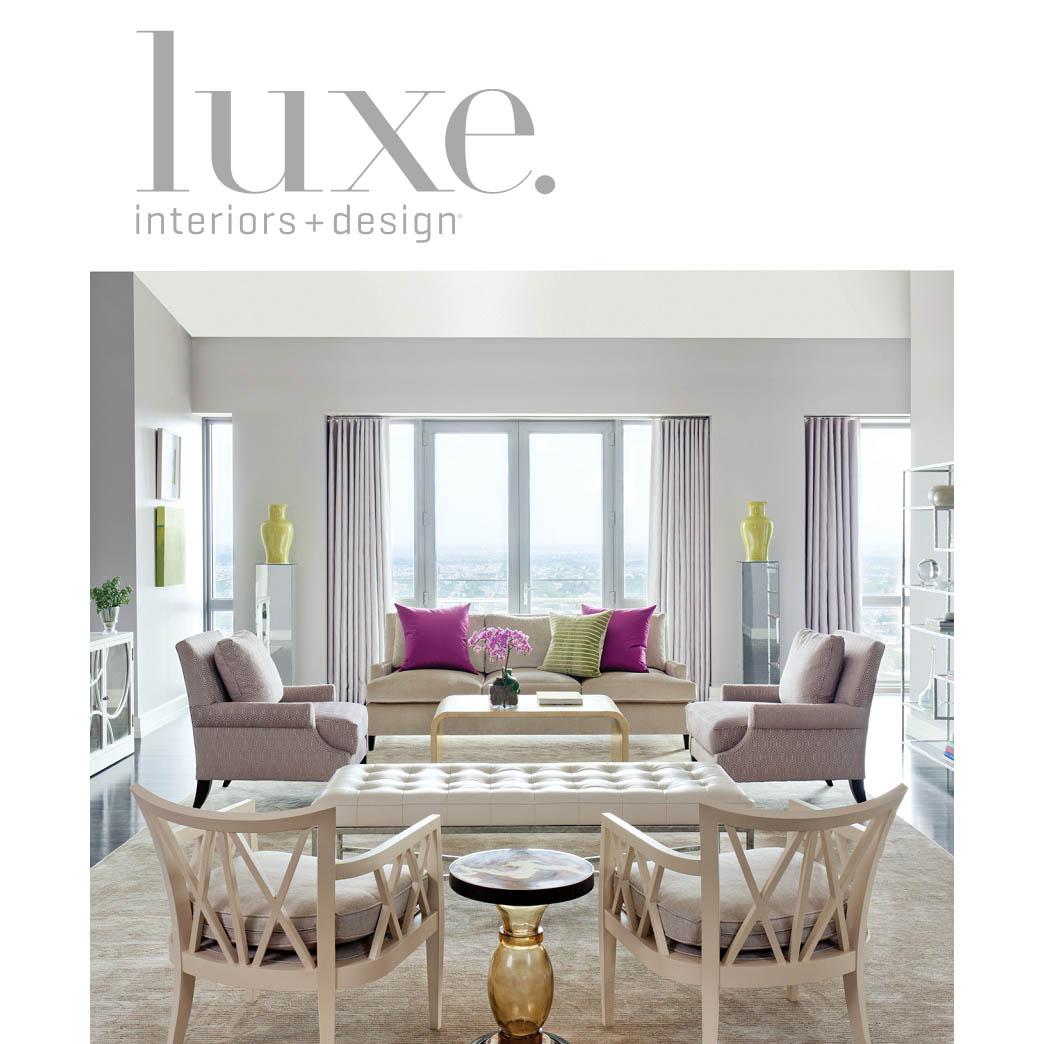 国外家居装修杂志 Luxe Interior 2013 夏季高清版 设计素材