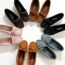 2013春新款女鞋豆豆鞋女真皮磨砂平跟妈妈单鞋欧美休闲护士平底鞋