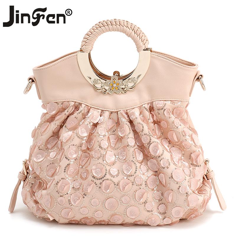 金粉世家正品女包2013夏季新款韩版潮流品牌蕾丝手提包女士包包邮