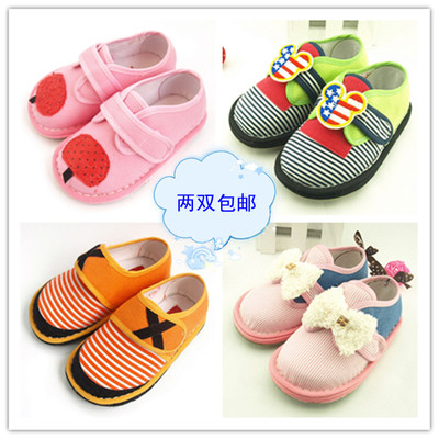 Cui shipping boys and girls grandmother handmade shoes Melaleuca whole package with non-slip foot pads toddler shoes gift