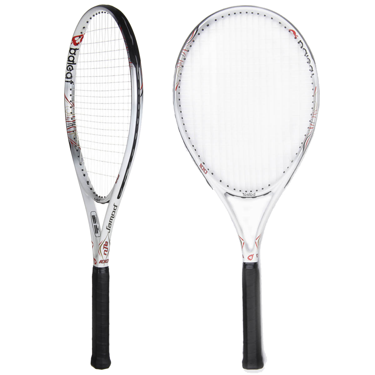 Baleaf\ Baile Ephesians B100 carbon tennis racket net making a genuine men and women just started 4-Follow through