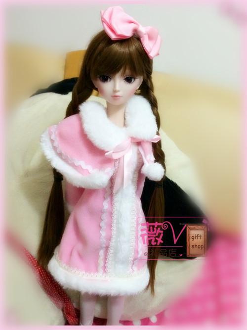 天天特卖夜萝莉叶罗丽娃娃精美衣服BJD/SD芭比60CM1/3娃套装衣服礼物正品