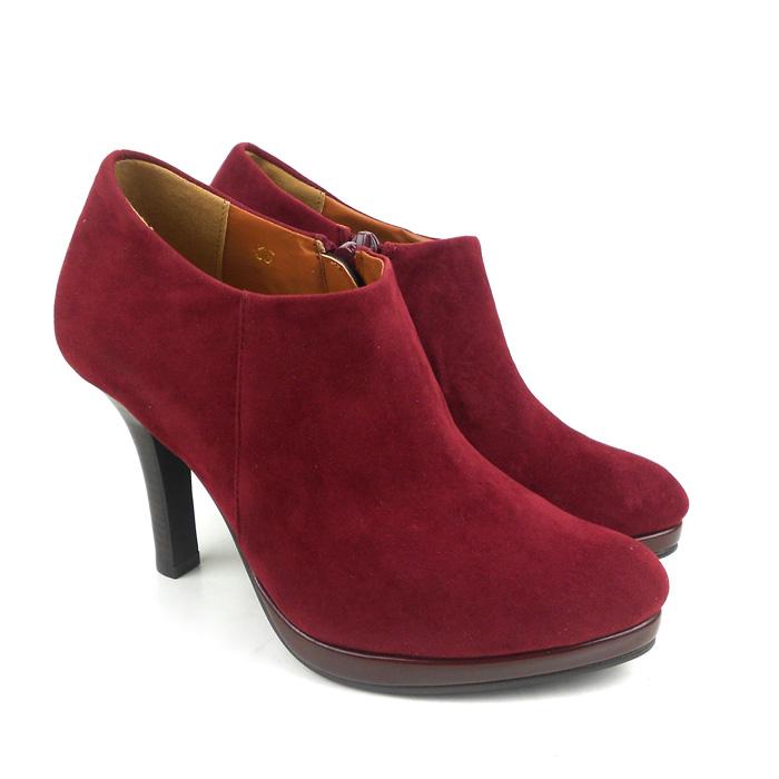 Женские сапоги новый оригинальный 2014 торговли весной и осенние сапоги, сапоги, высокий каблук указал замши шпильках сапоги женские сапоги голый OL профессиональная обувь