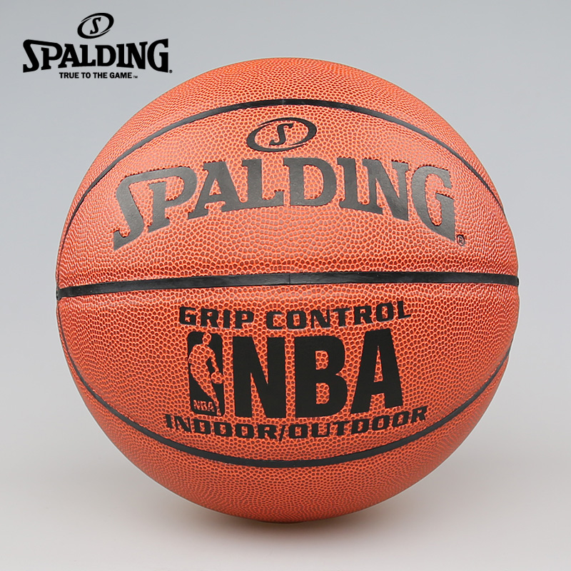 SPALDING, uncle d official flagship store PU leather popular best selling control of indoor and outdoor games basketball 74-221