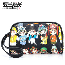 Dean Roland 2013 cosmetic bag Korean female bag new special purse opera Clutch G1-03
