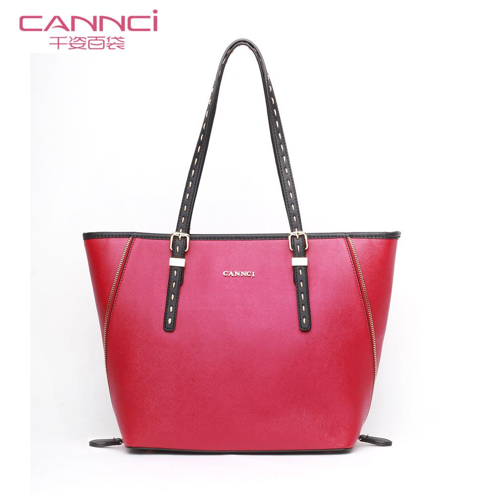 Сумка Zi one hundred bags l31246 CANNCI 2013 OL Девушки Сумка через плечо Однотонный цвет Искусственная кожа