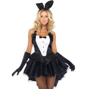 the new fashion sexy masquerade bunny rabbit uniform temptation stage loaded ds costumes rabbit clothes