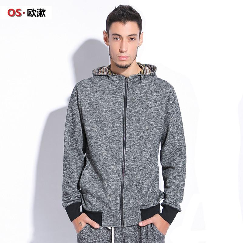 OS. Heavy qiu dong men thickening code fleece male fertilizer increased cardigan men's coat\ Taobao Agents