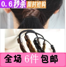 Choking mouth peppers recommended authentic Korean hair accessories hair wig hair band elastic hair rope braids