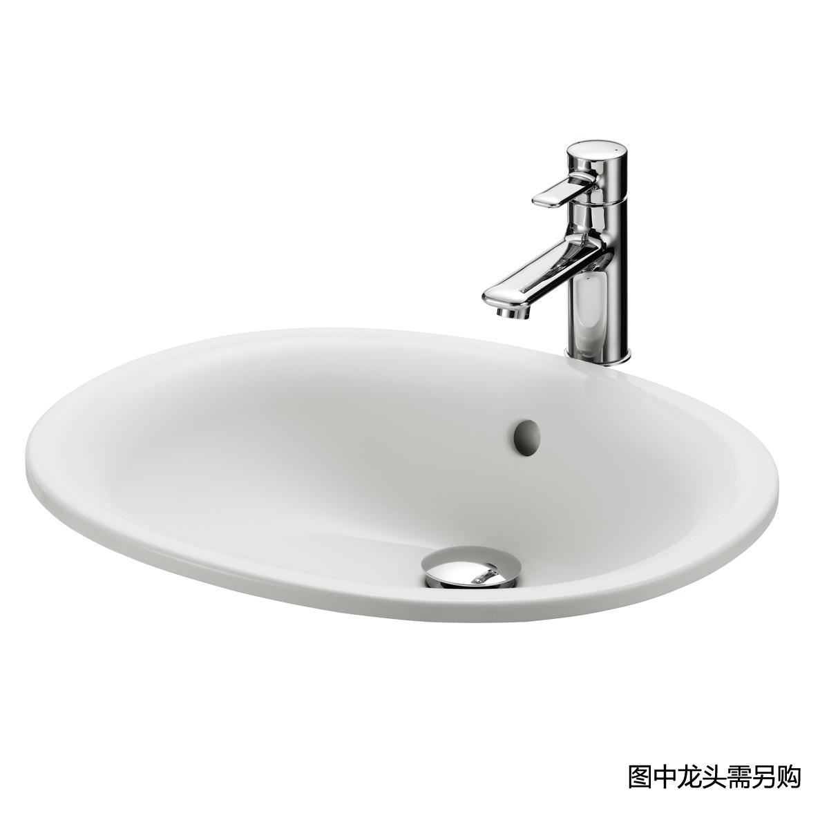 台上式洗脸盆LW762B