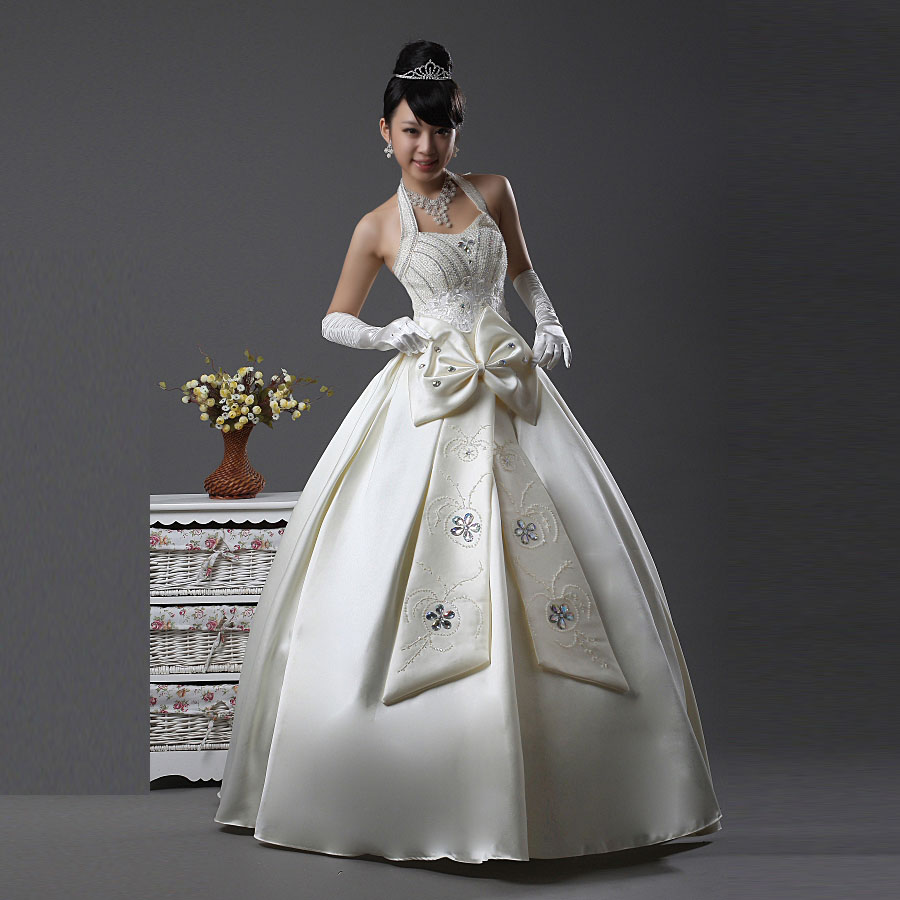Свадебное платье Princess Love 2013 HC005 Осень 2013 Плотная ткань Принцесса с кринолином Корейский