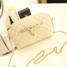 2013 summer new Korean version of the retro shell bags European and American fashion chain shoulder bag diagonal female bag bag of tide