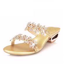 Xuan of Janice Man 2013 summer new women's slippers sheepskin diamond Roman hollow sandals and slippers leather slippers with women