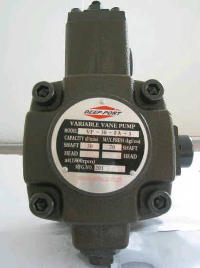 Vane Pumps Hydraulic Oil Pump VP-30-FA3 VP-40-FA3 Variable Vane Pump Low Pressure Pump VP-40-FA3
