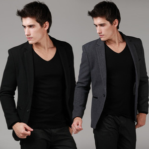 2013 new fall and winter clothes men's leisure suits men Slim Korean wool woolen suit jacket suit will