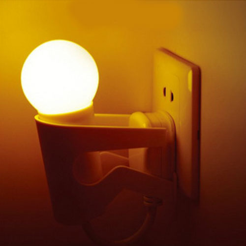 创意家居生活用品 新奇特居家日用品 光控小夜灯家庭必备