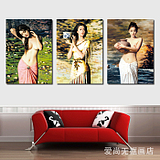 Impression of the door Art posters modern salon hair salon murals decorative painting frame painting wall paintings barbershop