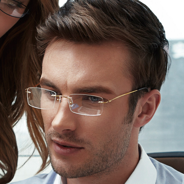 Cheap Frameless Reading Glasses
