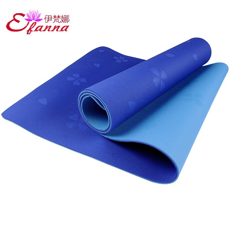Коврик для йоги Efanna  TPE 6MM