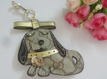 key ring pendant pendant creative keychain lanyard jewelry fashion modeling puppy