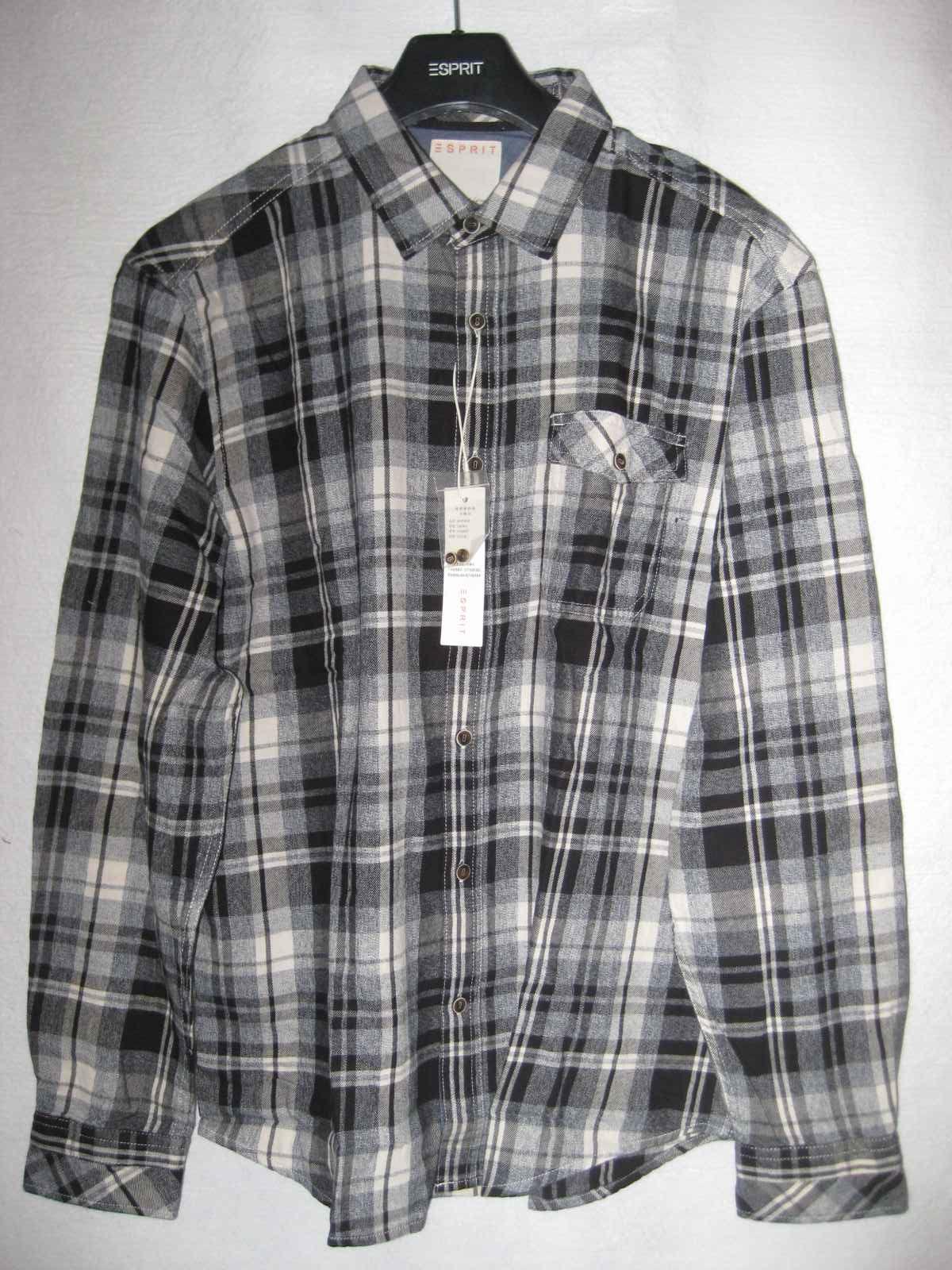 Рубашка мужская Esprit yd0907f 180 001 499