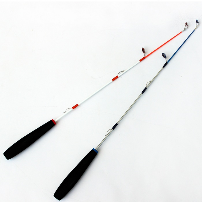 Ice fishing rod fishing rod fishing rod short winter raft for Short fishing rods