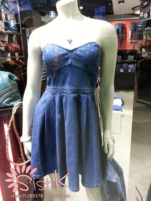 Женское платье Guess 2013 W32K70D