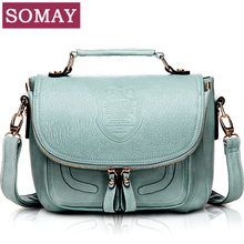 [Promote] somay year handbags 2013 new wave of female Korean retro College Wind handbag shoulder bag