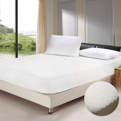 VELFONT anti-mite waterproof breathable models super soft coral velvet bedspread bed enterprises shall not lint free shipping can be customized