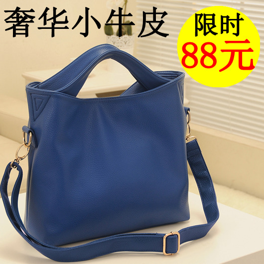 2013 new wave of European and American fashion handbags bags shoulder oblique cross mobile leather handbag bag