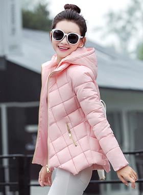 2016冬装新款羽绒棉衣女时尚短款A版型修身小棉袄韩版潮外套加厚