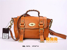 The new house of M 7879 M home package mini messenger bag handbag imported soft leather One shoulder aslant handbag