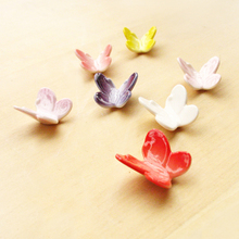 """PaVLa handmade jewelry,"" forest department color three-dimensional butterfly 