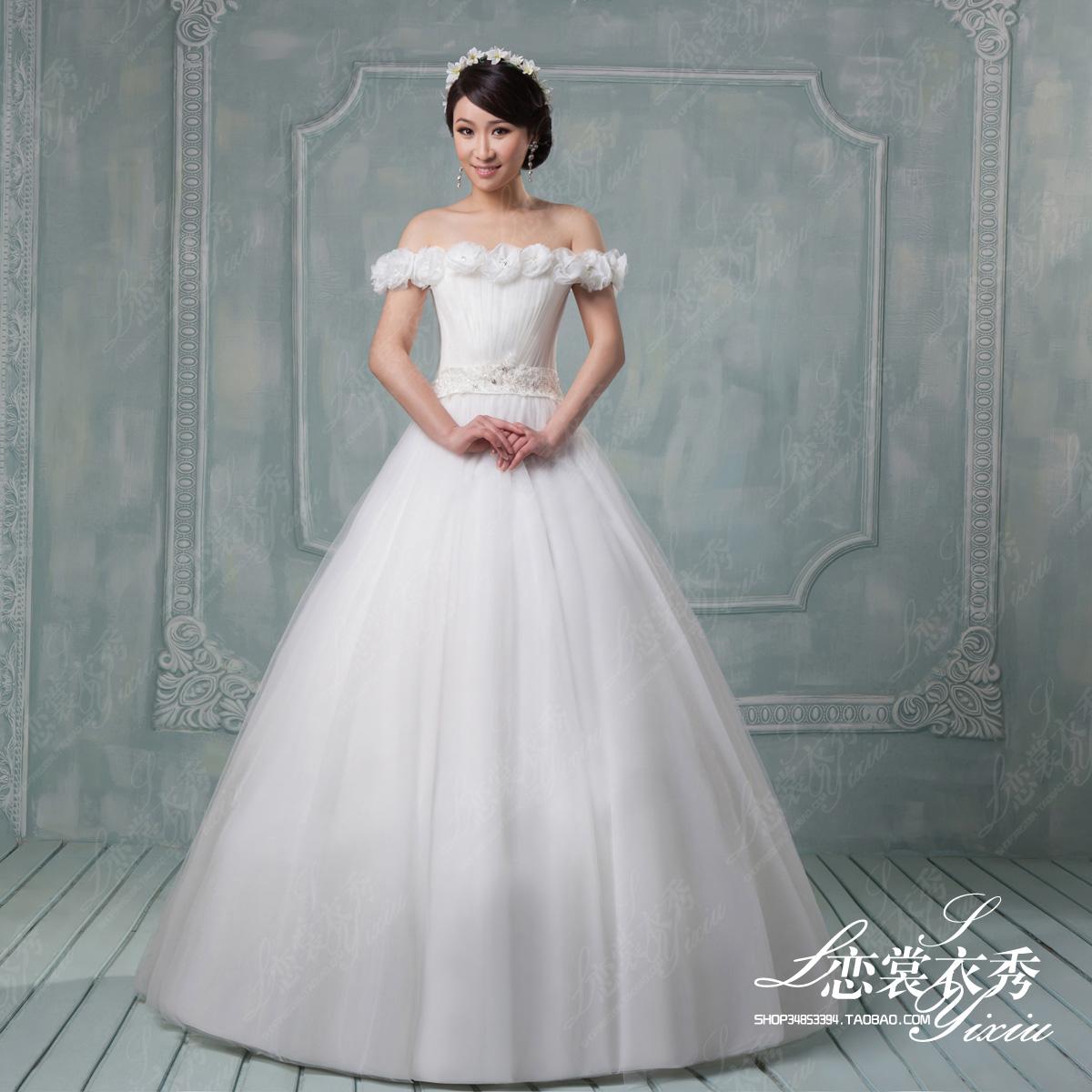 Свадебное платье Lianchangyixiu hsa121 2013