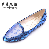 2013 new Korean flat shoes flat shoes with a single female Shi Leisi toe head Japanese sweet <span class=H> fashion </span> <span class=H> Shoes </span> Clearance