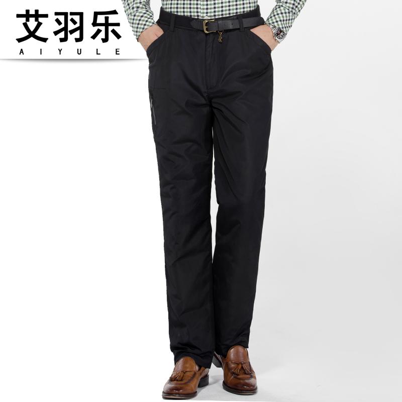 Утепленные штаны Ai Yu Yue 11 Полиэстер Более 90 белый утиный пух % Верхняя одежда