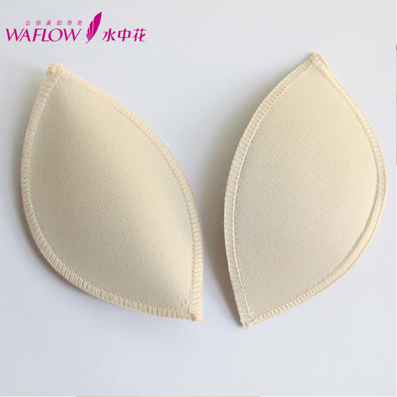 Water, authentic new flower foam breast inserts pad plate Crescent and bullions 2 sizes small love