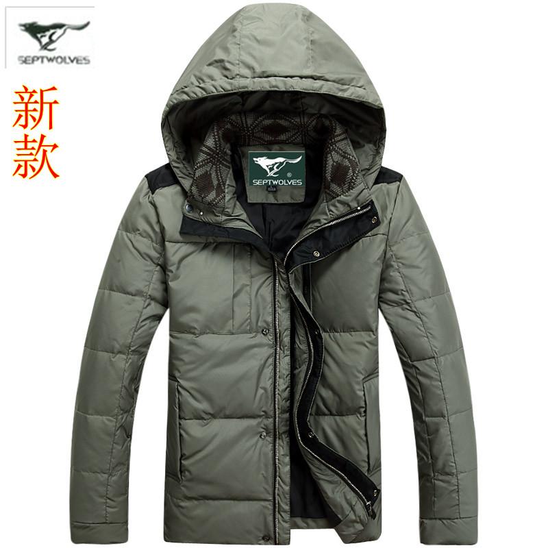 【反季特价】新款男羽绒服中年男士羽绒服特价清仓正品特价