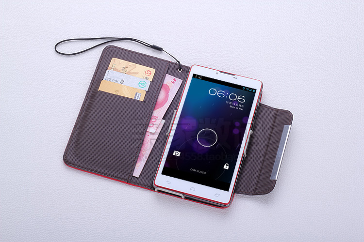 Zopo Fashion W7 Imitation Leather 6Inch Cell Phone Cover