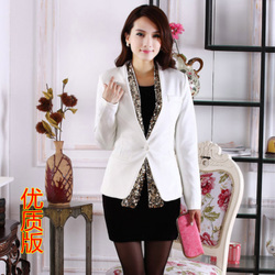Korean style sleeved shirt slim small suit suit