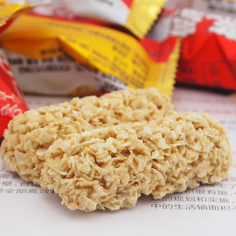 亲百客 坚果零食营养纯燕麦片巧克力唯一家低糖食品特产750g散装