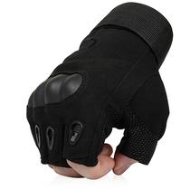 Des soldats des forces spéciales de larmée des gants à lextérieur de la tactique Fan Xia antidérapante semi - doigt de gant de guerre petit Black Hawk.