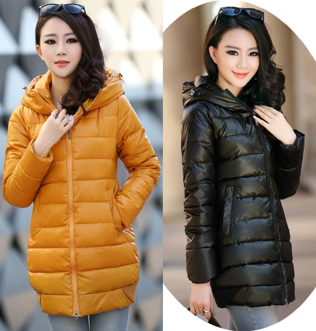 Женская утепленная куртка 2012/59 2013 PU