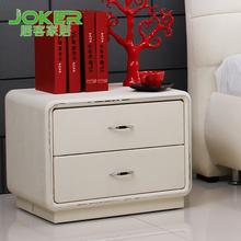 居客  床头柜 储物床边柜 品牌卧室家具 简约时尚 特价可定制图片