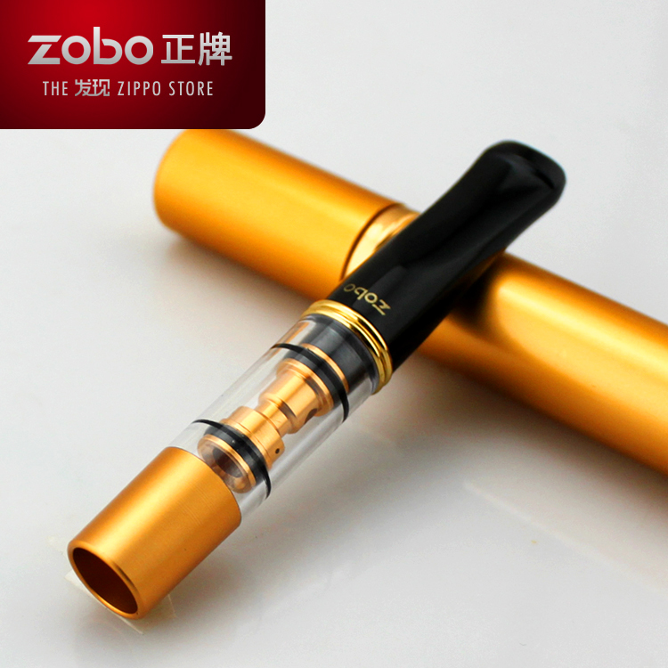ZOBO real cigarette holder filter washable double-circular filter cigarette holders c microporous filter